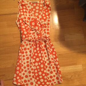 Adorable Summer Polka Dot Dress - Size Small