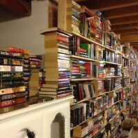 CHRISTMAS BOOK SALE-ALL PAPERBACK FICTION $2.50