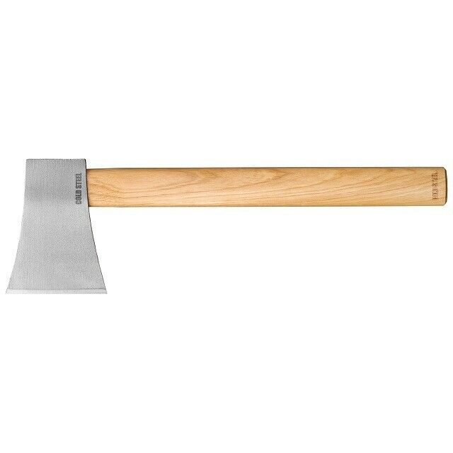 """Cold Steel 90AXF Competition Thrower Wood Handle Carbon 16"""" Hatchet Axe"""