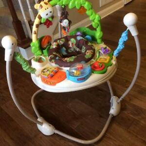 jumperoo - fisher price go wild