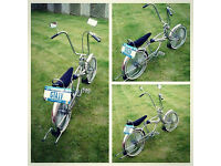100% Chrome old school LOWRIDER Beach Cruiser imported from USA - Perfect for VW DUB & Hotrod Shows