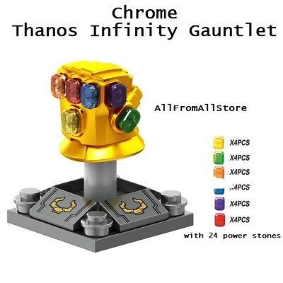 Avengers Infinity War Thanos Infinity Gauntlet Lego Building Blocks Marvel Toy