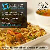 Catering with Take-Out and Delivery; call us at 7806699630