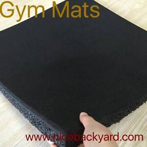 Rubber Gym Mats 1m X 1m X 15mm Clearance Sale...... Campbellfield Hume Area Preview