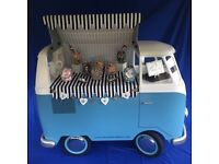 Split Screen Sweet Cart Hire - Holmfirth West Yorkshire