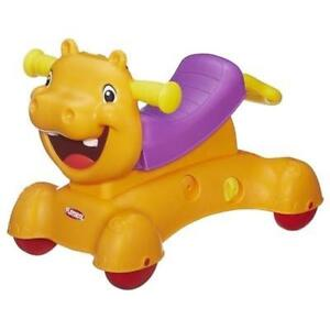 Ride on hippo