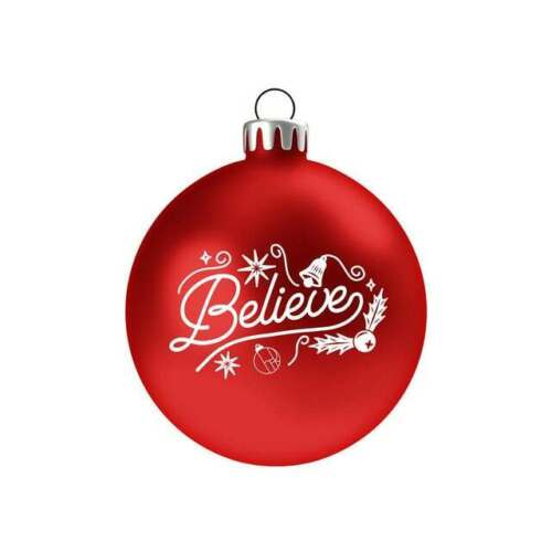 CHER 2020 BELIEVE Tree Holiday Glass Ornament SOLD OUT..NO LONGER AVAILABLE!!