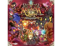Arcadia Quest Inferno - Hell of a Pledge (New, Complete, and Kickstarter Exclusive)