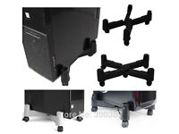 KOENIG PC CPU Stand with Wheels Mobile Computer Max 70KG