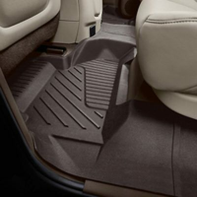 (PREMIUM ALL-WEATHER 2ND ROW FLOOR LINER COCOA, 2015-2018 GMC YUKON XL 84181589)