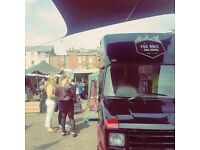 Street food truck ONO With equipments! Customize your kitchen!!Leather interior!