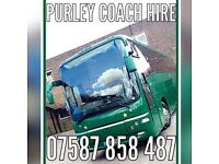 Coach hire 49 seater with toilet