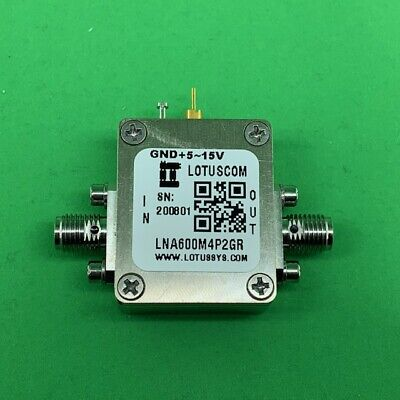 Broadband Ultra Low Noise Amplifier With Ldo 0.6db Nf 600m4.2ghz 19db Flat Gain