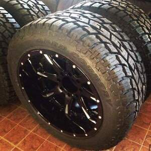 22x12 Fuel Nutz with Toyo AT2 Xtreme