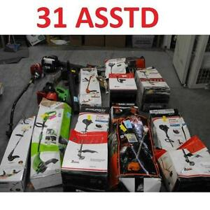 31 ASSTD POWER TOOLS LOT - 119586930 - EDGER TRIMMER BLOWER LAWN CARE GRASS MAINTENANCE SEE COMMENTS