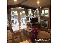 Caravan hire, Mother's Day 10% off! Platinum with decking caravan on Somerset coast!