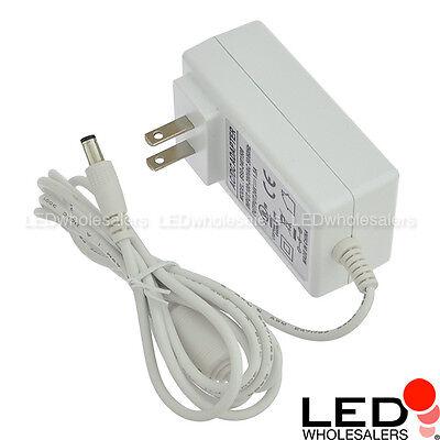 24v Spring (24V 1.5A 36W Wall-Mount AC/DC Power Adapter 5.5x2.5mm DC Plug w Spring Clips,)