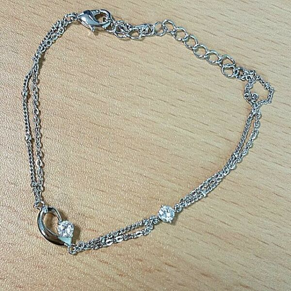 simple and elegant anklet / Loose Bracelet