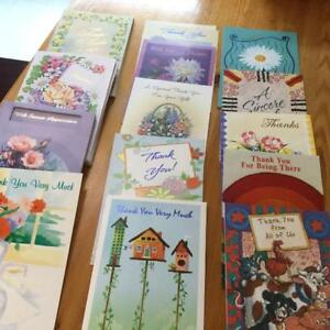 Thank You Cards  (NEW)