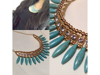 Fashionable cheap statement necklace