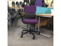Steelcase Purple Lets B Task Chair