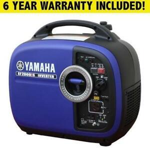 Yamaha EF2000IS Generator! ONLY $999 6 YEAR WARRANTY Shipping Nationwide!