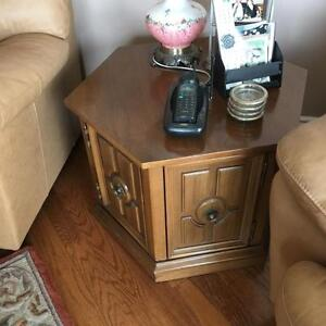 Solid Wood Occasional Side Table