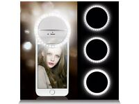 Would anybody be interested Selfie light 36 LED ring clip on camera