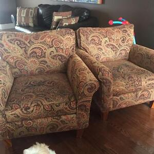 Pier One Chairs - set of 2