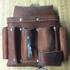 """""""Ideal"""" leather electric tool pouch"""