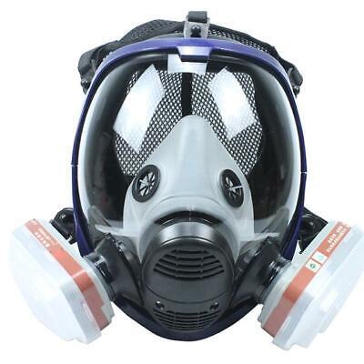 6800 Full Face Gas Mask 7 In 1 Facepiece Respirator Painting Spraying