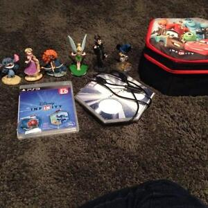 PS3 PlayStation 3 Disney Infinity Bundle/Disney Character Booste