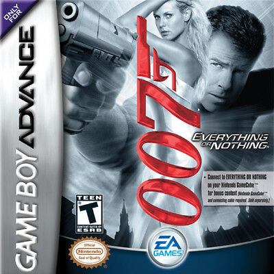 James Bond 007: Everything or Nothing GBA New Game Boy Advance