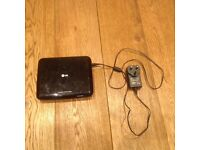 LG Portable CD/DVD Player