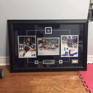 Toronto Maple Leafs Doug Gilmour autographed picture