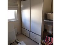 Ikea Askvoll Wardrobe and Chest of 2 Drawers