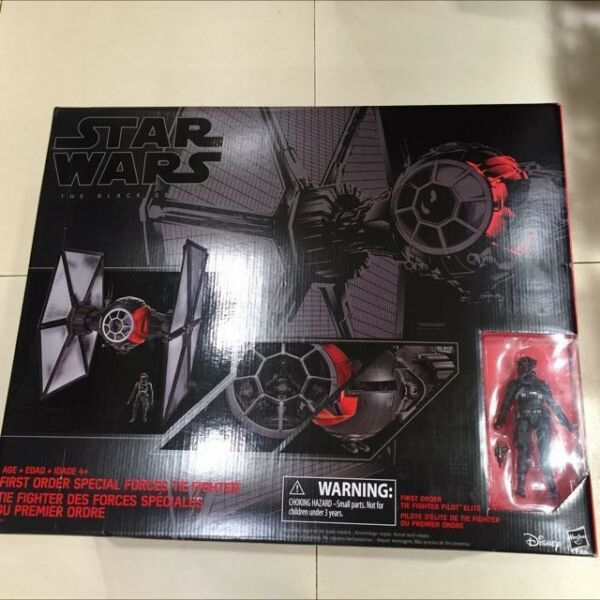 StarWars Ep7 First Order Special Forces Tie Fighter Hasbro Black Series