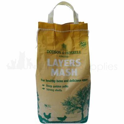 Dodson & Horrell Layers Mash Chickens Ducks Poultry Food Feed 5kg