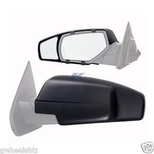 2014 2015 2016 chevy silverado gmc sierra clip snap on tow mirror extension. Black Bedroom Furniture Sets. Home Design Ideas