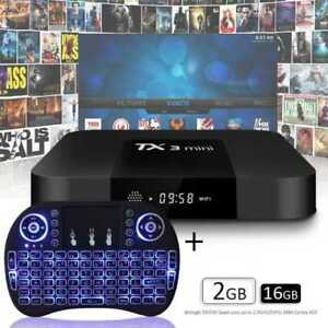 WOW ! Boite Android Tv box  Fully Loaded Android 8.1