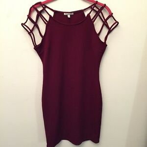 Charlotte Russe Bodycon Cage Dress