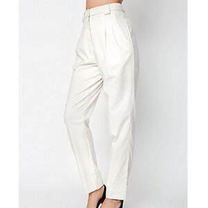 $75 American Apparel Calvary Twill Pant In Ivory S
