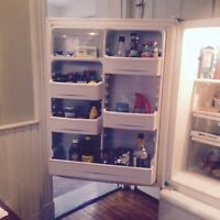 General Electric Bottom Freezer Refrigerator