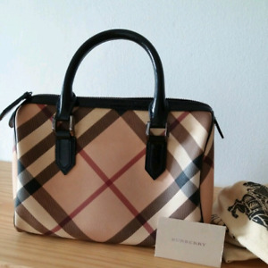 Authentic Burberry handbag. Excellent used condition