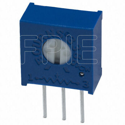 Lot Of 2 3386w-500lf 50 Ohm 38 Cermet Potentiometer Bourns Inc.
