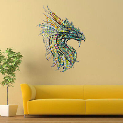 DIY Decor Dragon King Wall Sticker Family Decal for Living Room Bedroom Home