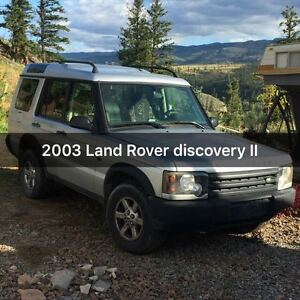 2003 Land Rover Discovery Black LineX SUV