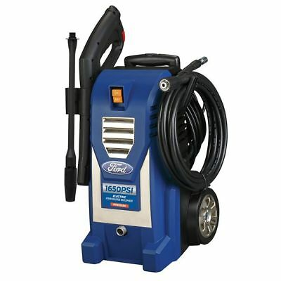 Ford FPWE1650 1,650PSI Built-in Soap Tank Electric Pressure Washer 1650 PSI Blue