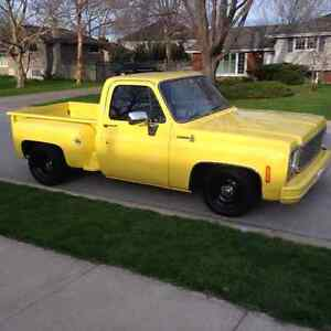 1980 CHEVY C10 STEPSIDE TRUCK FOR SALE OR TRADE