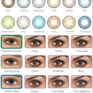 Coloured contact lense